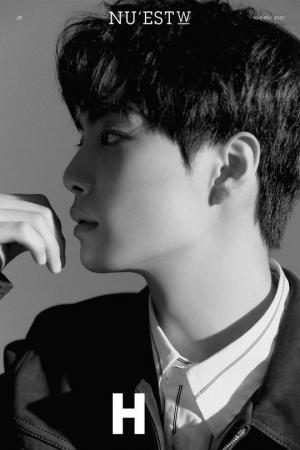 뉴이스트 W, 첫 티저 공개… JR의 아련美 (ft. 'H'의 의미?)