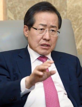 홍준표 자유한국당 대표_한경 DB