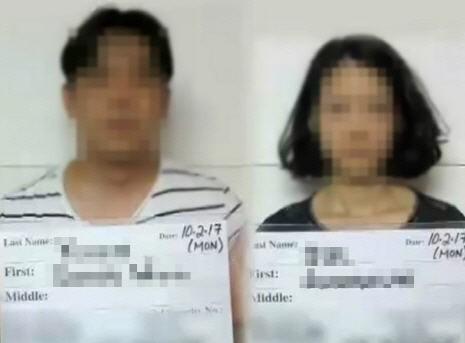 괌에서 차량에 아이들을 방치했다 체포된 한국인 부부