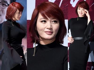 김혜수, 숨길 수 없어…'당당한 원조 글래머'