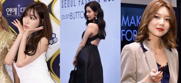 소녀시대 티파니 서현 수영