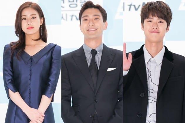 '변혁의 사랑' 최시원 강소라 공명 /사진=tvN