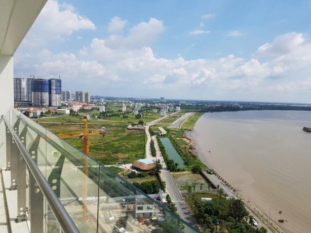 지난해 사회능력개발원이 주관해 해외연수로 다녀온 베트남 호찌민의 주택단지 모습.