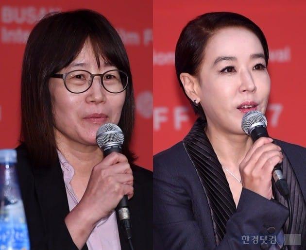 신수원 감독, 강수연 집행위원장