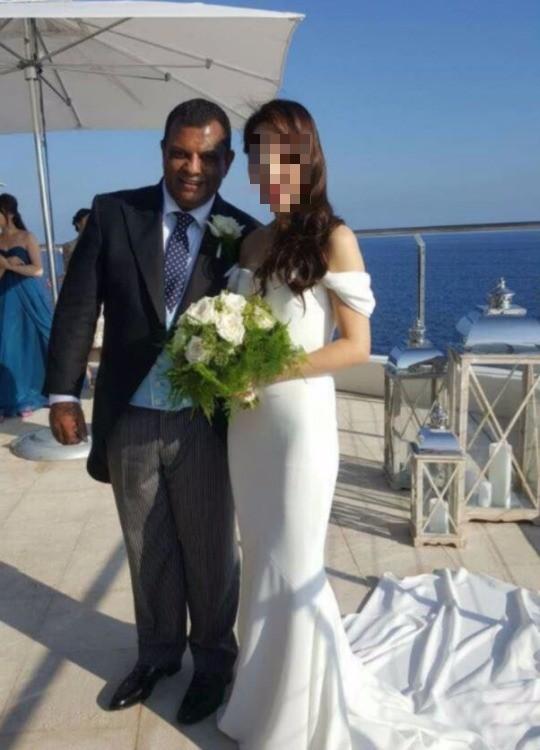 에어아시아 회장 한국인 여성과 결혼 /사진=더스타 캡쳐