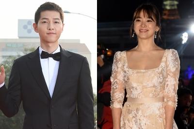 송중기♥송혜교 결혼…장쯔이부터 박보검까지 영화제 방불케하는 하객들