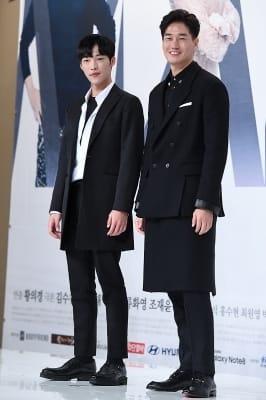 우도환-유지태, '멋지게 블랙 수트 입고~'