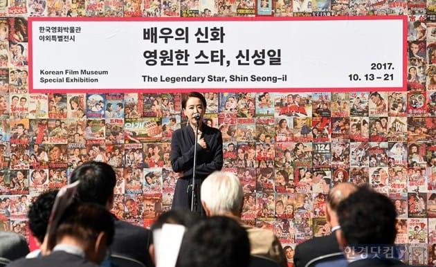 배우 강수연 / 사진=최혁 기자