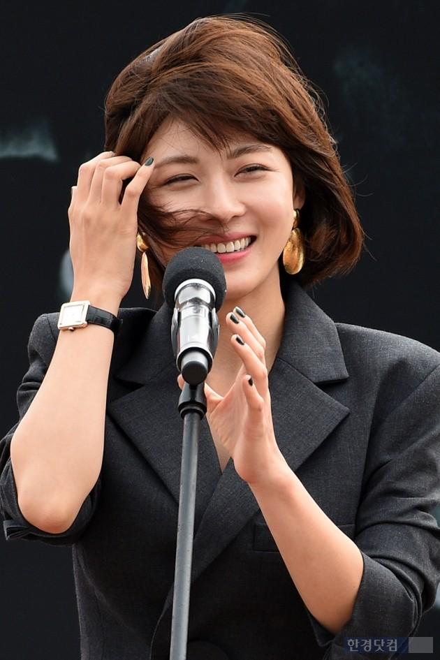 배우 하지원 / 사진=최혁 기자