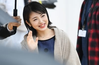 하마베 미나미, '부산을 녹이는 아름다운 미소~' (부산국제영화제)