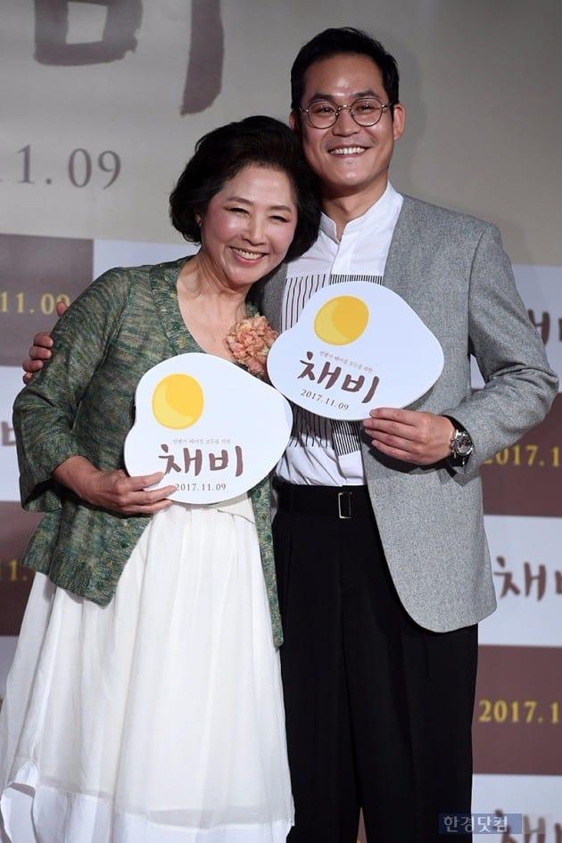 배우 고두신, 김성균 / 사진=최혁 기자