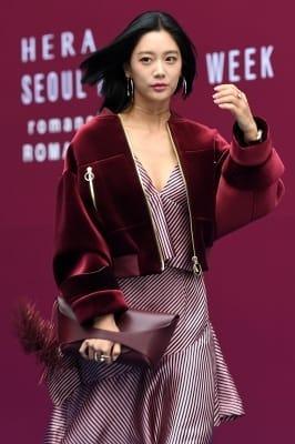 클라라, '머리 날리며 시크하게~' (2018 S/S 서울패션위크)