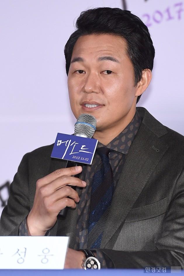 영화 '메소드' 박성웅 /사진=변성현 기자