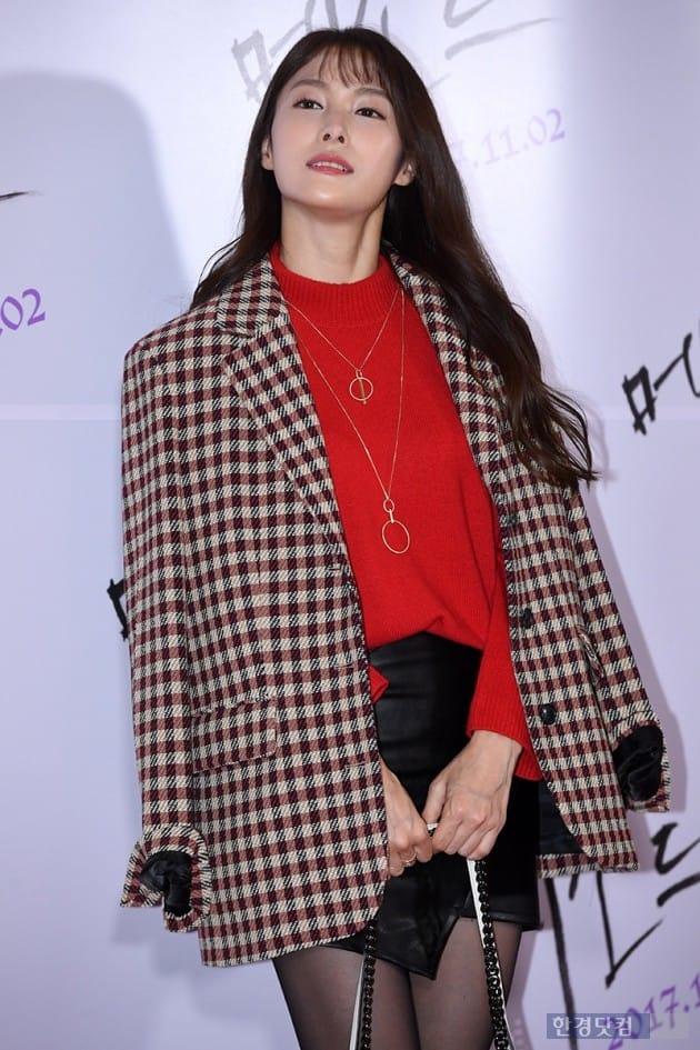 배우 박규리 / 사진=최혁 기자