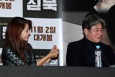 최민식, '박신혜 하트를 거부하는 남자'