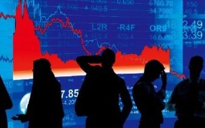 코스피, 기관·개인 '팔자'에 2470선 후퇴…IT株 하락
