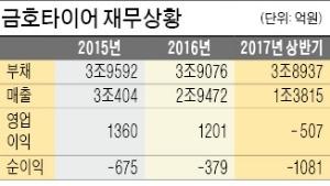 """""""금호타이어 연내 재매각""""… 채권단, 신주 발행 유상증자 방식 검토"""