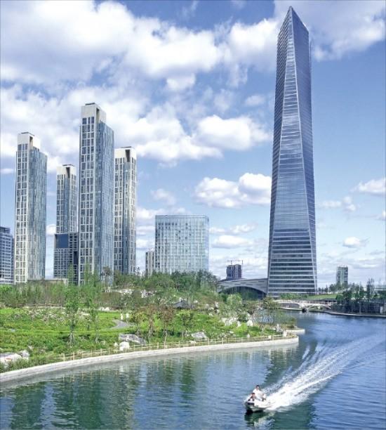 포스코건설과 미국 게일인터내셔널 간 분쟁으로 2년째 개발이 중단된 인천 송도국제도시 국제업무단지 모습.  /인천경제자유구역청 제공