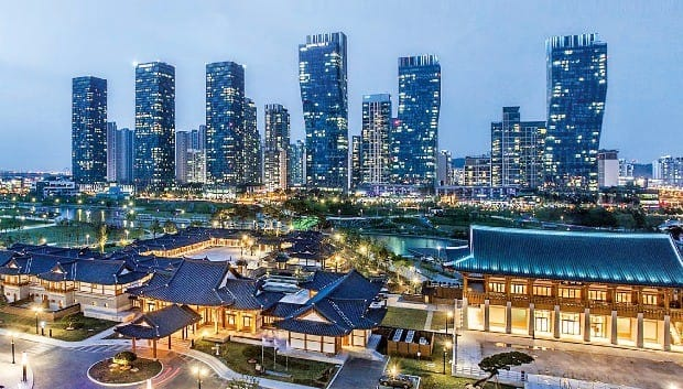 인천 송도 국제도시