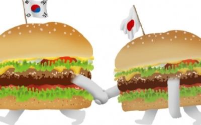 한국 버거킹, 일본 버거킹 '한입'에 삼켰다