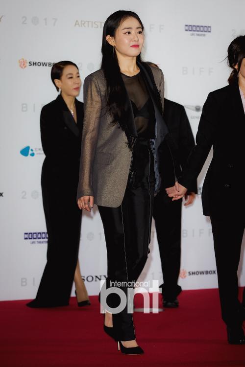 [bnt포토] 문근영 '오늘 그녀의 무드, 매니시&섹시'