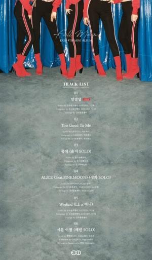 """""""더욱 짙어졌다""""…EXID, 새 앨범 'Full Moon' 트랙리스트 공개"""
