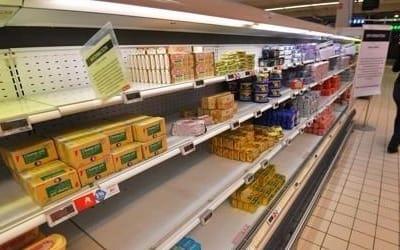 프랑스 때아닌 '버터 대란'… 공급 부족·수요 급증 탓