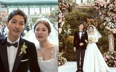 송중기♥송혜교, 동화같은 결혼식 현장 공개…무엇을 상상하든 그 이상
