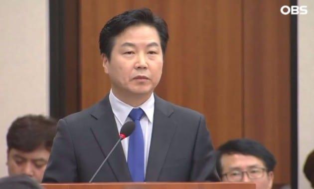 홍종학 중소벤처기업부 장관 후보자 / OBS 방송화면 캡처