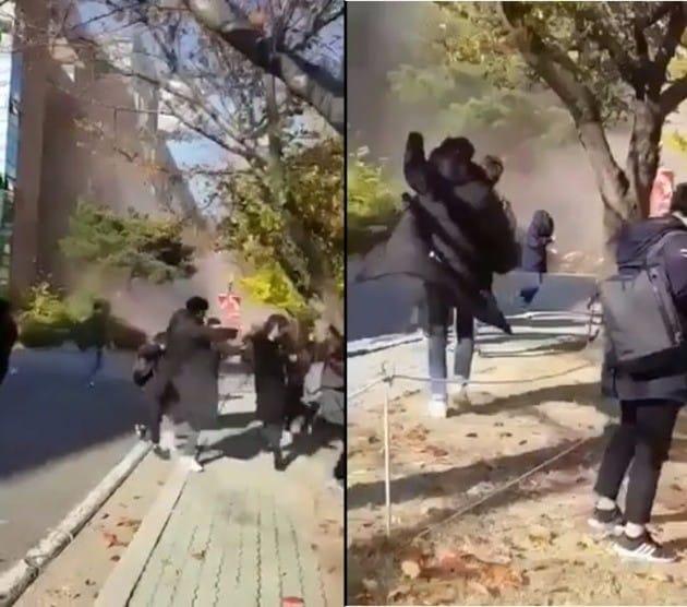 한동대, 지진 피해 / 온라인 커뮤니티 영상 캡처