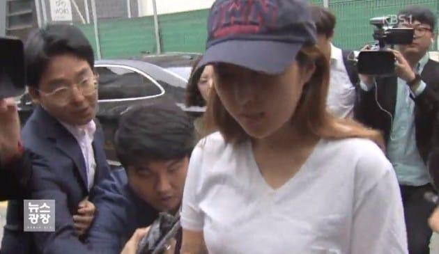 정유라 집 괴한 침입 / KBS 방송화면