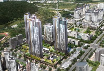 [동탄역 파라곤①규모]중심상업업무지역 내 아파텔·아파트 534가구
