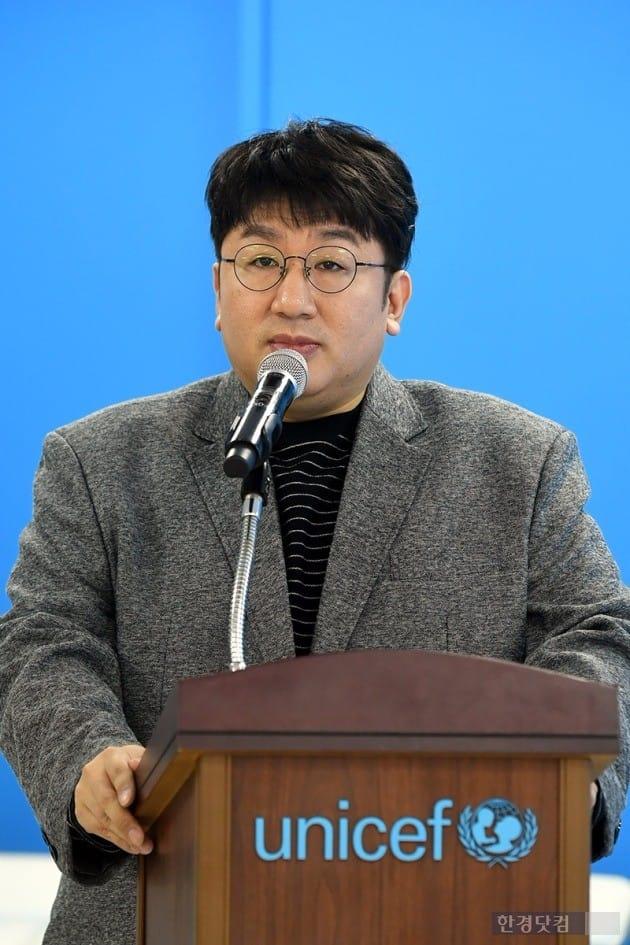 빅히트 엔터테이먼트 방시혁 대표