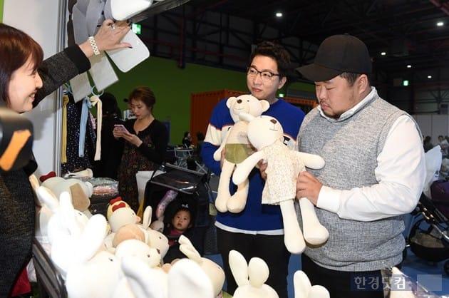 개그맨 송영길, 정범균 / 사진=최혁 기자