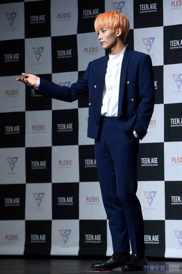 그룹 세븐틴 정한 / 사진=최혁 기자