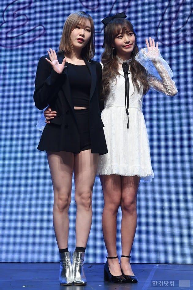 그룹 피에스타 예지, 김소희 / 사진=최혁 기자