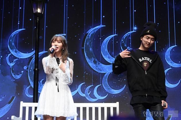 가수김소희, 래퍼 올티 / 사진=최혁 기자