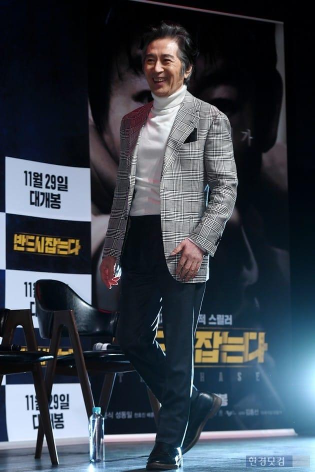 배우 백윤식 / 사진=최혁 기자