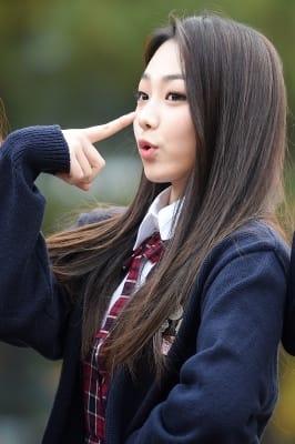 구구단 미나, '귀엽게 코코코~'