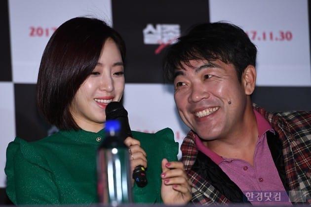 배우 함은정, 이원종 / 사진=최혁 기자
