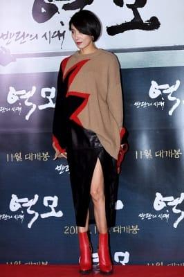 김서형, '아찔한 절개 의상'