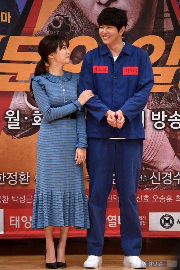 배우 정혜성, 윤균상 / 사진=최혁 기자
