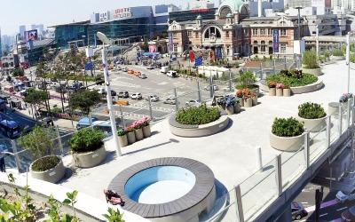 '서울역 옥상~서울로' 연결하고 남대문시장엔 광장