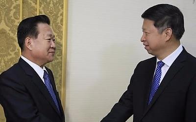 시진핑 특사, 방북후 귀국… 김정은 면담여부 확인안돼