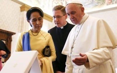 로힝야 인종청소 논란속 교황의 미얀마 방문 '살얼음판'