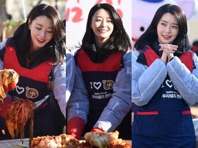 마음까지 예뻐…'김장여신' 나라