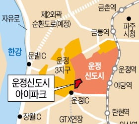 [운정신도시 아이파크②입지]GTX 타면 서울역까지 10분대