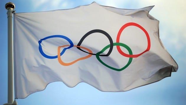 국제올림픽위원회(IOC) 깃발. 출처=IOC