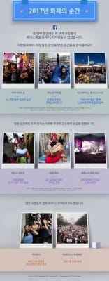 2017년 가장 주목받은 SNS 화제의 순간