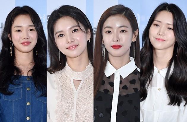 '회사를 관두는 최고의 순간'  정연주 재이 고원희 김지은 /사진=변성현 기자